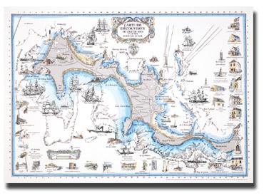 Carte de Découverte de l'Ile de Sein