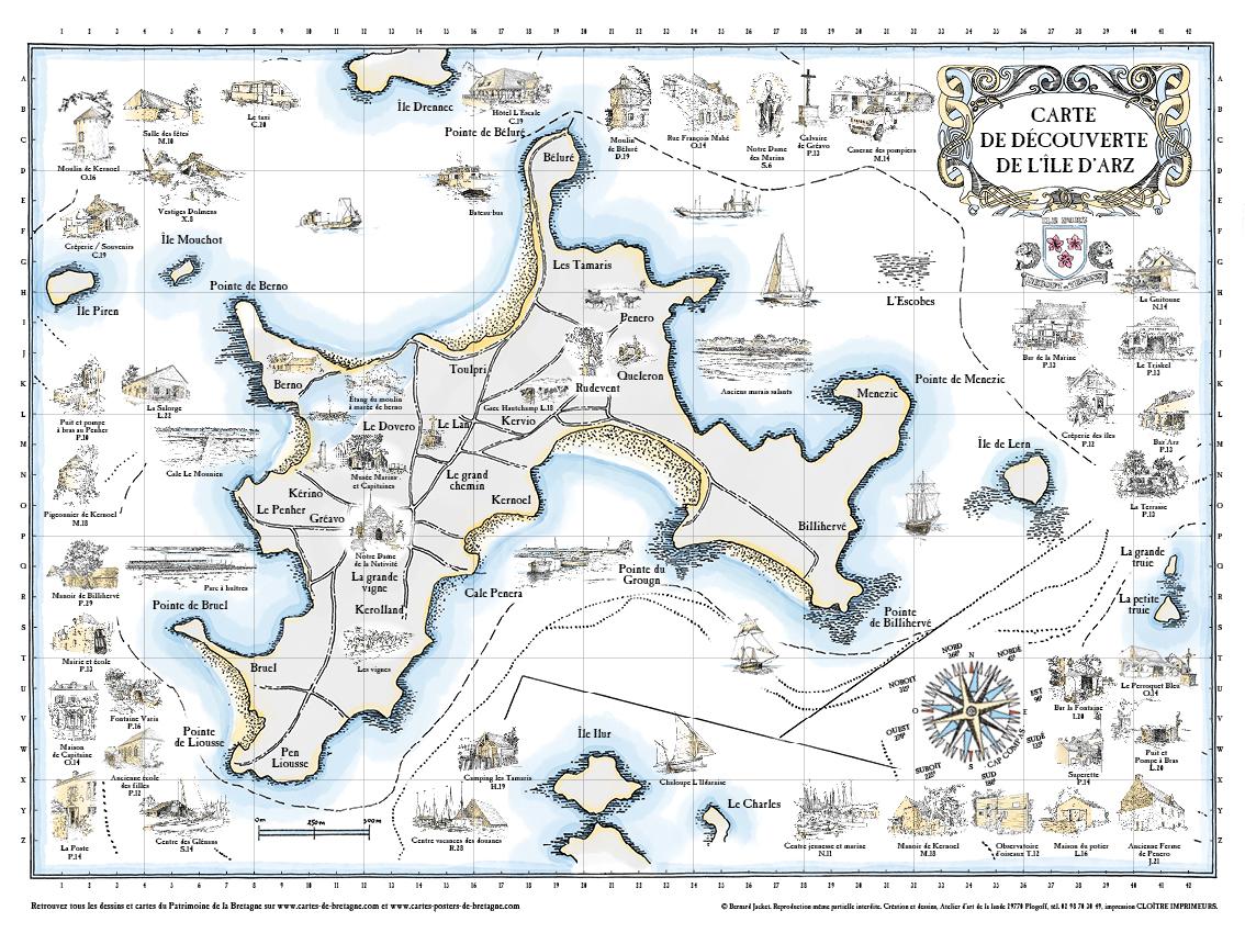Ile d'Arz – Golf du Morbihan