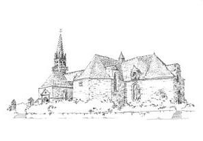1001 Morbihan – Eglise St Barnabe – Langoelan