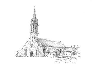 1002 Finistère – Eglise Notre Dame Pitié – Treguennec