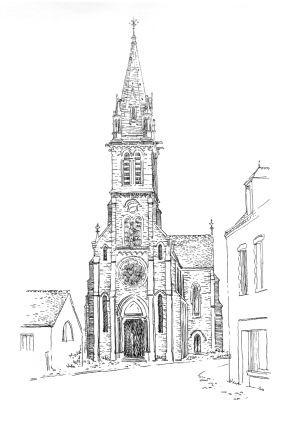 1007 Loire atlantique – Eglise Reine de Bretagne