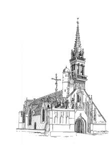 173 Eglise notre Dame de Confort – Confort-Meilars – Finistère