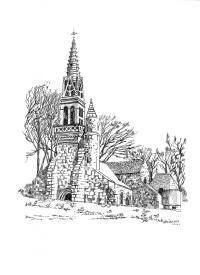 215 Cap Sizun – Chapelle Notre Dame Kerinec – Poullan sur Mer