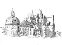 336 lle-et-vilaine – Château de Rochers-Sévigné
