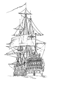 341 Vaisseau – The Royal Georges – Sein