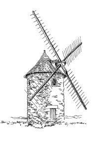 349 Finistère – Moulin de Trouger