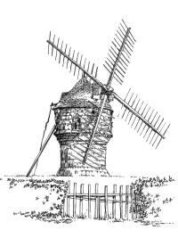358 Loire-Atlantique – Moulin du diable – Guérande