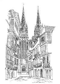 361 Finistère – Cathédrale St Corentin