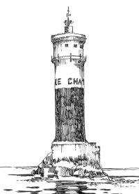 362 Finistère – Balise le Chat – Raz-de-sein