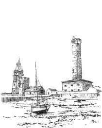 398 Finistère sud – La tour à feu – Penmarc