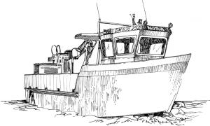407 Ille et vilaine – Bateau profil – Le Vivier sur mer