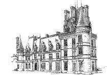 408 Finistère sud – Château de Trevarez