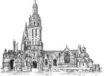 418 Finistère – Eglise de Pleyben