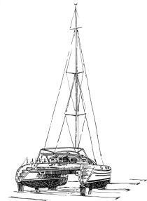 425 Morbihan – Trimaran Sir Henry – Trinité sur mer