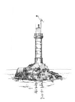 450 Finistère – Feu des Trois-pierres-molene
