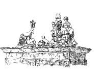 453 Finistère – Chasse de St Hubert – Eglise de Cast