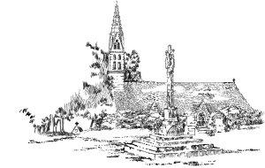 454 Côtes d'armor – Chapelle Notre Dame de Folgoat – Lensalaun