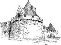 459 Morbihan – Château des Rohans – Pontivy
