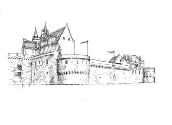 485 Loire atlantique – Château Anne de Bretagne – Nantes