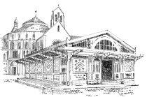 494 Finistère – Quimperle – Les Halles et Eglise