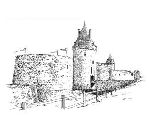 496 Loire atlantique – Château de la Groulaie – Blain