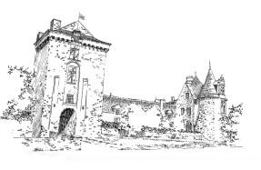 506 Loire atlantique – Château de Chateaubriant