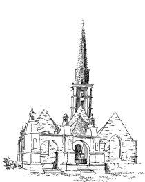 518 Finistère – Eglise de Plouneour – Menez