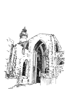 519 Abbaye de la Pointe St Mathieu – Finistère