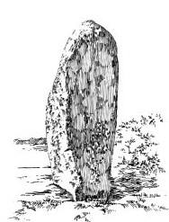 521 Finistère nord – Menhir de Lannoulouarn