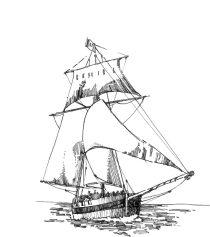 536 Baie d'Audierne – Anse Cabestan Freres 1744