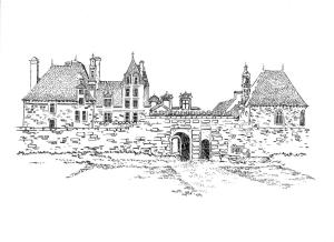 560 Finistère nord – Château de Kerjean – Plouzevede