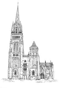 561 Finistère Nord – Basilique du Folgoet – Lesneven