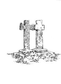 565 Finistère nord – Croix double monolithe – Plouarzel