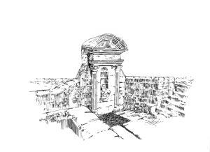 568 Côtes d'armor – Fontaine Notre Dame du Roncier – Rostrenen