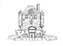 584 Finistère – Prison seigneuriale – Guerlesquin