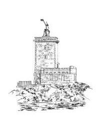 585 Finistère nord – Feu de l'île noire – Baie de Morlaix