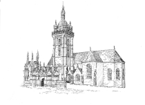 587 Finistère – Eglise St Thegonnec – St Thegonnec