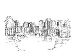 589 Ruine Abbatiale de Landevennec – Crozon – Finistère