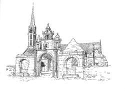 596 Finistère – Eglise Ste Genevieve – Argol