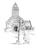598 Finistère nord – Chapelle St Léonor et Stèle – Porspoder