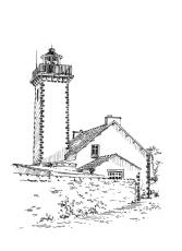 610 Finistère – Phare de la Lande – Taule