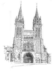613 Finistère – Basilique St Paul Aurelien – St Pol de Leon