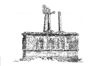 618 Finistère Sud – Calvaire des trois fontaines – Gouezec en Pleyben