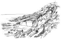 62 Finistère – Débarcadère de Feunteun aod – Plogoff