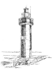 625 Finistère sud – Feu du Coq – Bénodet