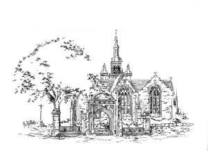 628 Enclos de l'Eglise – St Thurien Plogonnec Douarnenez