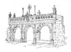 630 Finistère – Arc de Triomphe – St Suliau – Sizun