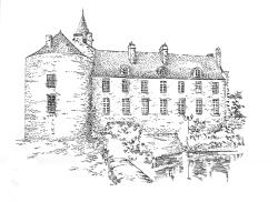 632 Finistère – Château de Pont l'abbé