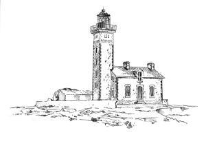 640 Finistère – Phare de l'Ile aux Moutons – Les Glénans