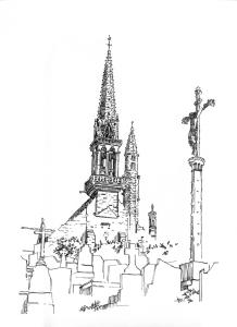 644 Finistère – Eglise notre Dame et St Tugen – Brasparts